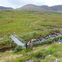 Walking in the Sneem area, Ring of Kerry