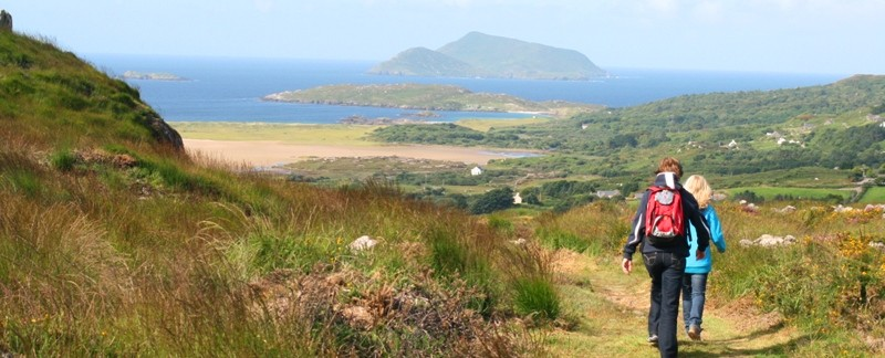 View of Derrynane Beach from The Kerry Way