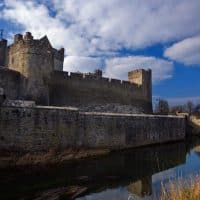 cahir castle, one of the largests castles in Ireland