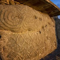 the megalithic passage tomb at newgrange was built around 3200bc