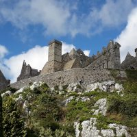 the famous rock of cashel, once the seat of the High Kings