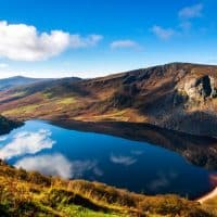 view of the wicklow mountains
