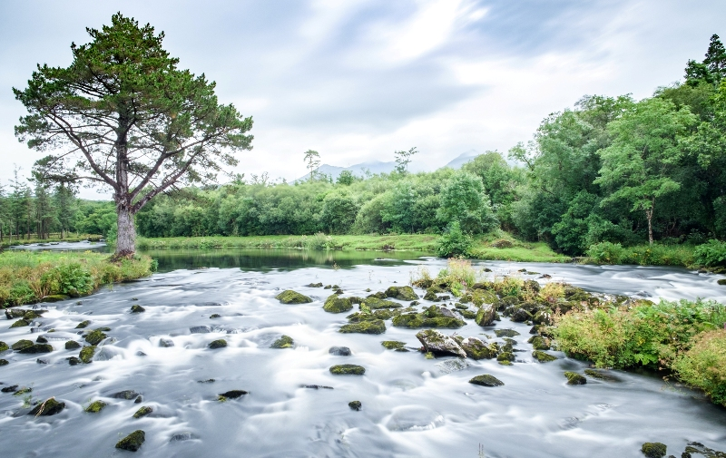 Carragh River county Kerry
